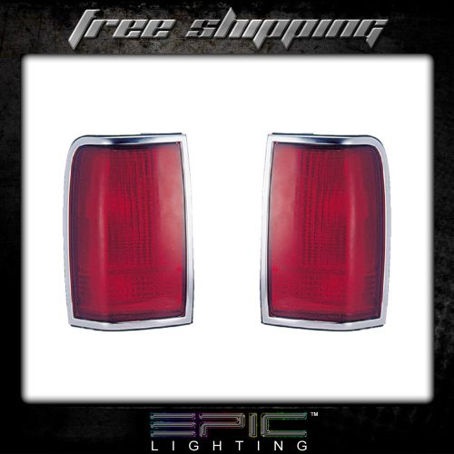 small resolution of details about fits 90 97 lincoln town car tail light lamp pair left and right set