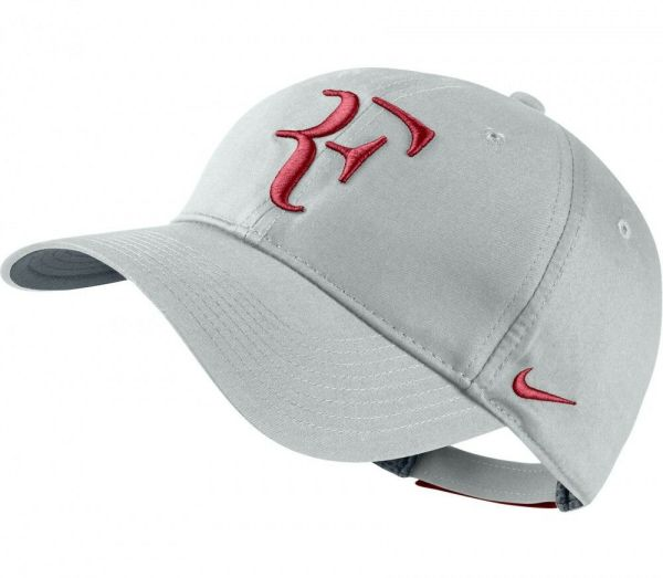 Wolf Grey Genuine Nike Men-women Tennis Cap Roger