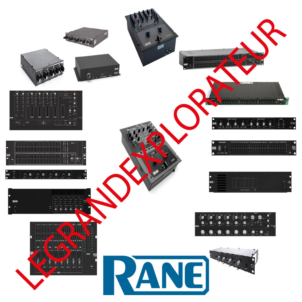 hight resolution of details about ultimate rane audio operation repair service manual schematics 435 pdf on dvd