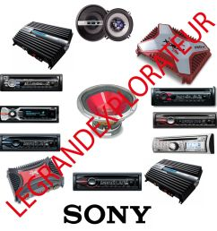 details about ultimate sony car radio repair service manuals cdc cdx mdx mex xm xr xs manual s [ 1000 x 1000 Pixel ]