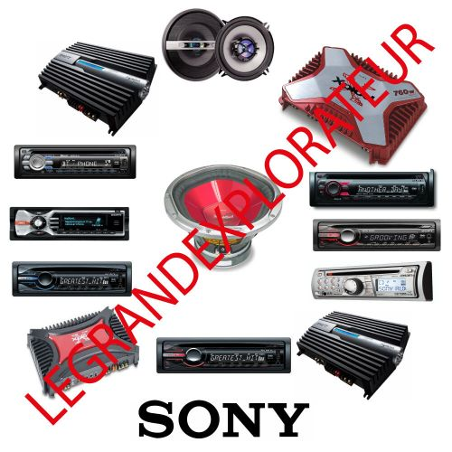 small resolution of sony deck wiring diagram cdx gt50w