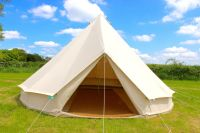 100% Cotton Canvas Teepee Tipi Bell Tent Large Family ...