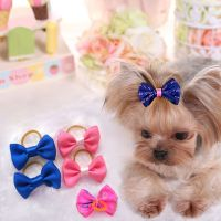 100pcs Handmade Designer Pet Dog Accessories Grooming Cute