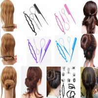 4X Plastic Magic Topsy Tail Hair Braid Ponytail Styling ...