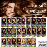 WELLA KOLESTON NATURALS HAIR COLOR KIT COLLECTION - 25 ...