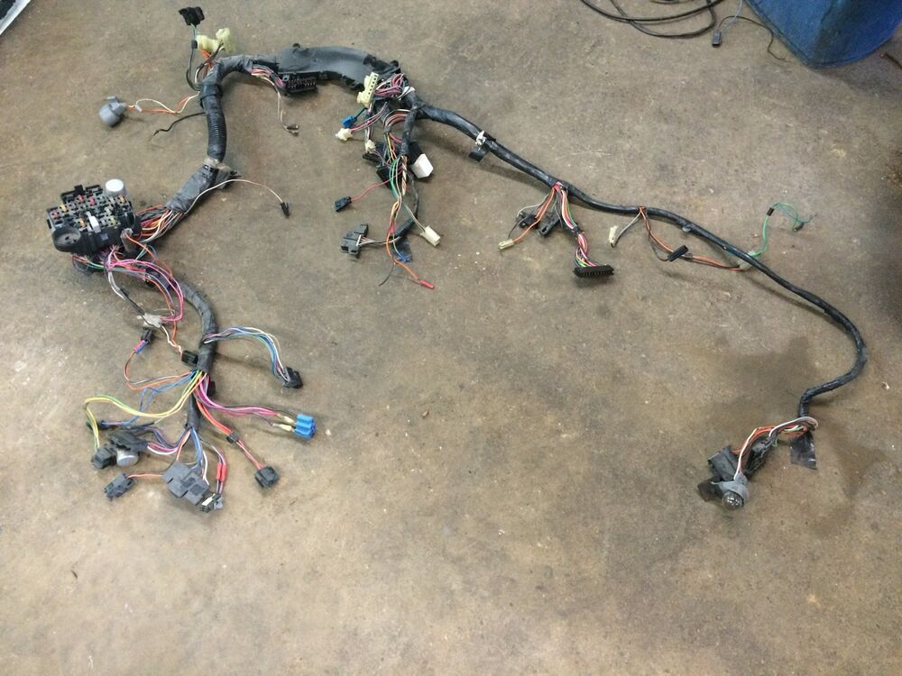 1987 Gmc Wiring Harness Diagram