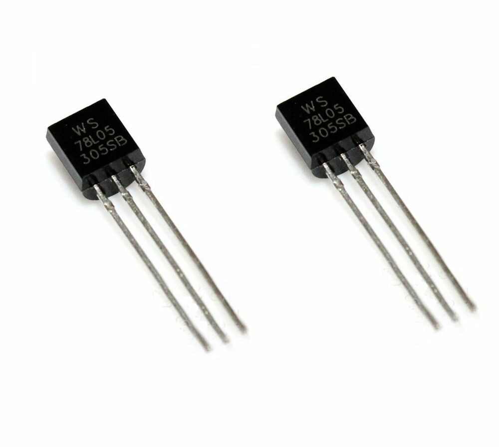 20 Pcs WS78L05 78L05 TO-92 Voltage Regulator IC 5V 100mA