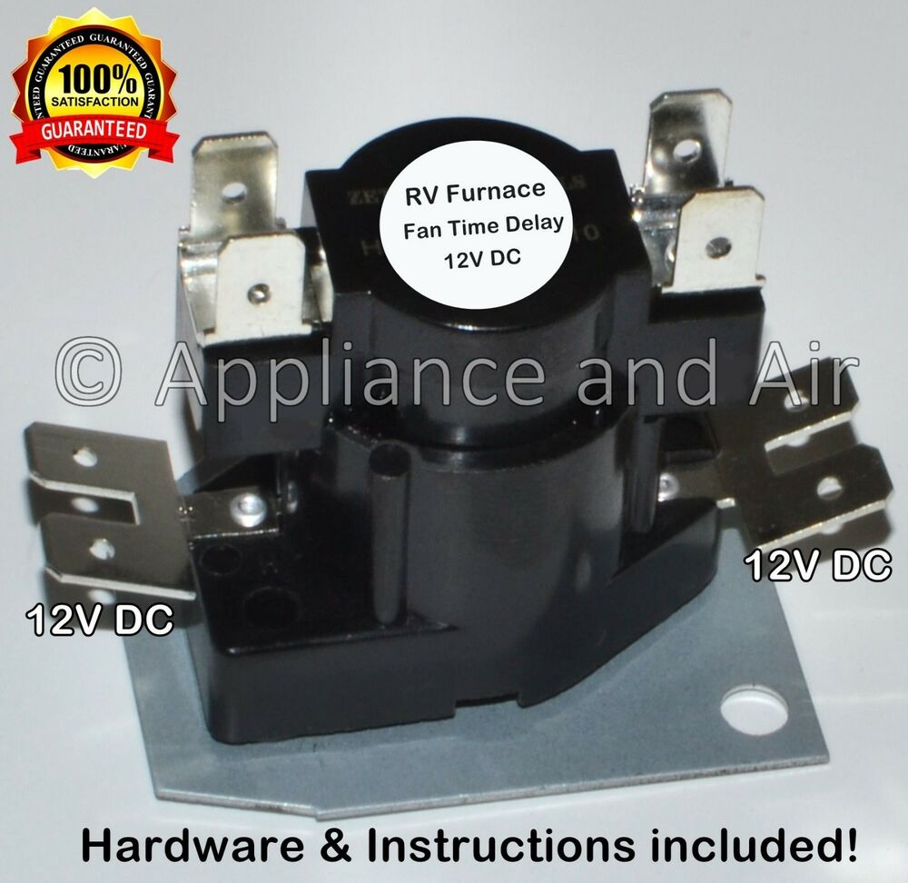 hight resolution of suburban atwood furnace fan time delay heater relay 1017 rv camper instructions ebay