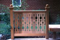 17 Quality EMPIRE PATTERN Cedar Flat Sawn Balusters For ...