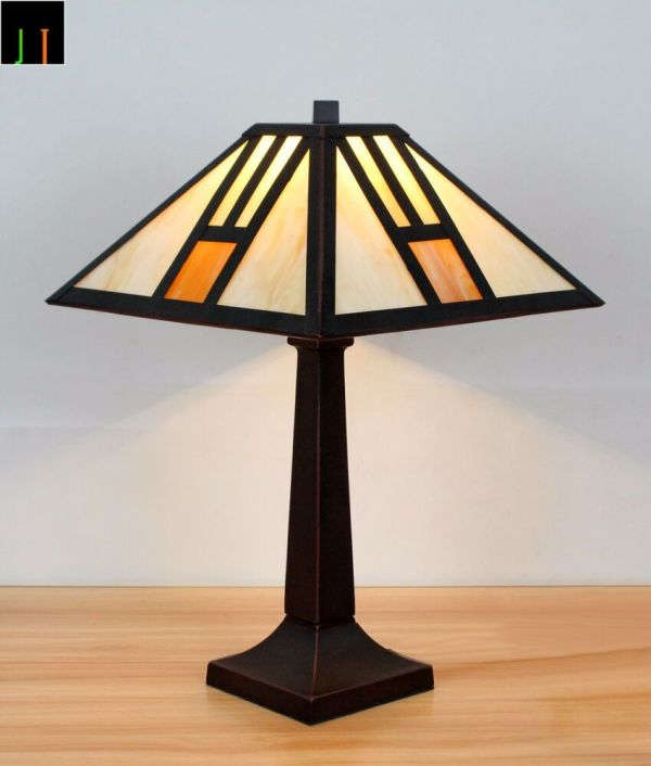Stained Glass Table Lamps eBay