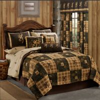 NEW Browning Country Quilt Bedding Comforter Set or Bed ...