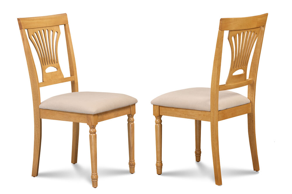SET OF 6 KITCHEN DINING SIDE CHAIR W SOFTPADDED SEAT IN