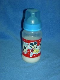 Reborn baby doll fake formula bottle Disney Mickey Mouse ...