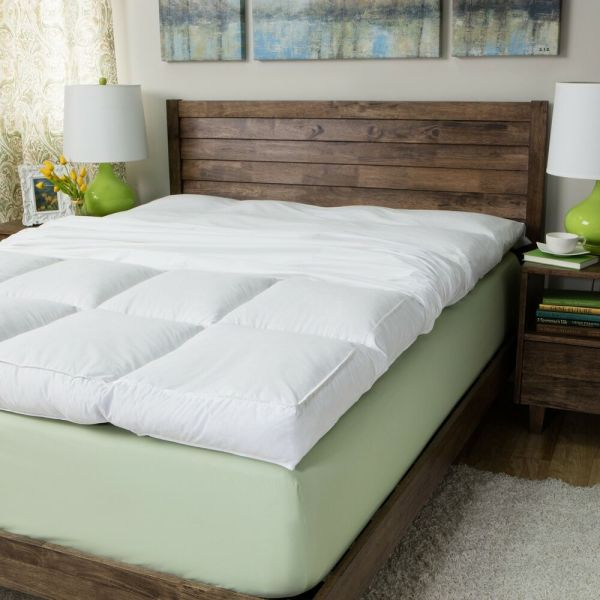 King Size Feather Bed Mattress Topper