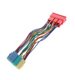 wrg 3124 mcd wiring harness20 pin radio wiring harness mini iso block adapter connector for [ 1000 x 1000 Pixel ]