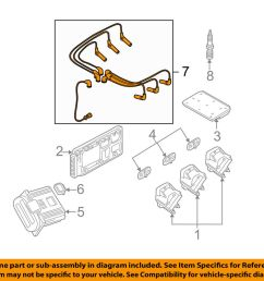 details about gm oem ignition spark plug wire or set see image 19171853 [ 1000 x 798 Pixel ]