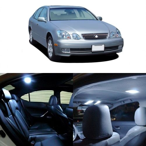 small resolution of details about 14 x white led interior light kit for 1998 2005 lexus gs300 gs400 gs430 tool