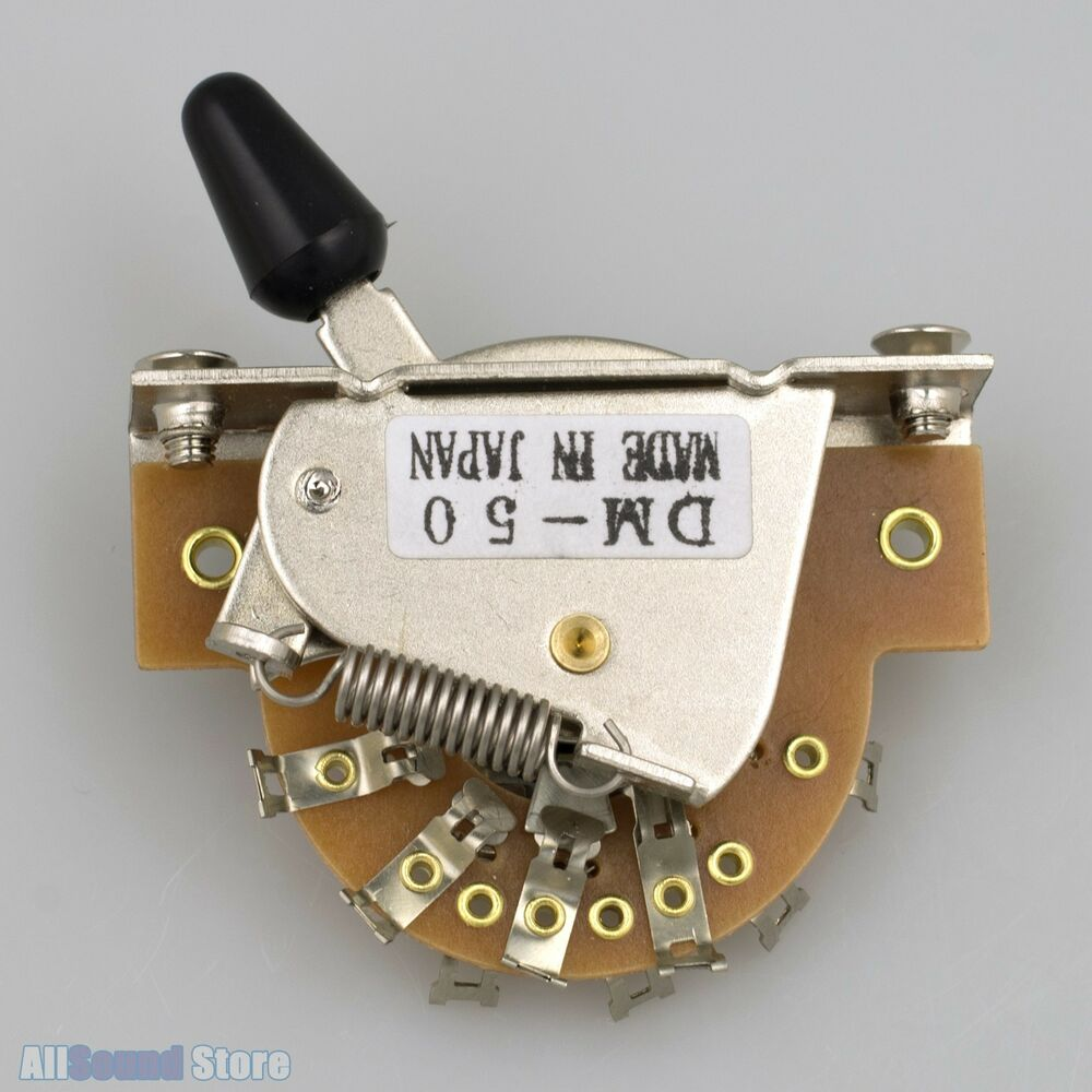 5 Way Switch Wiring Diagram Stratocaster With New Dm 50 5 Way Pickup Switch For Japan Import Fender