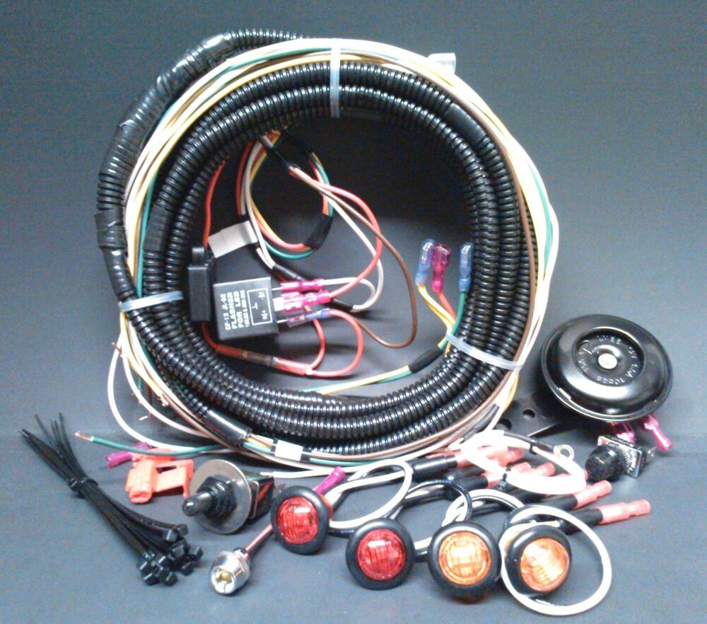 John Deere 70 Wiring Harness New Polaris Ace Turn Signal W Horn Kit Street Legal Led