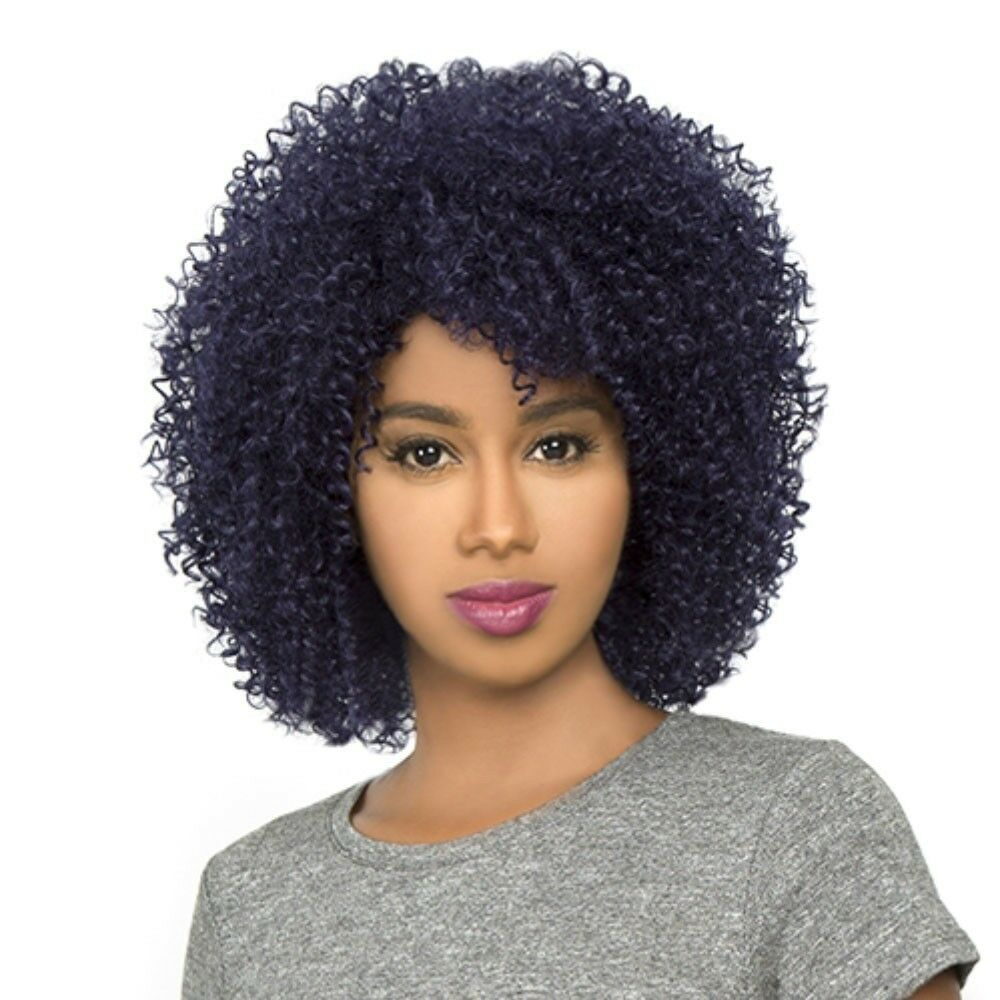 HH AFRO JERRY THE WIG BRAZILIAN HUMAN NATURAL HAIR BLEND