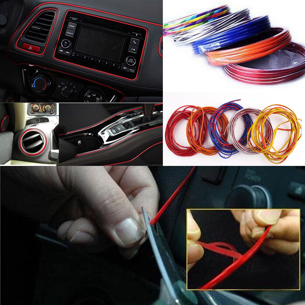5M Point Edge Gap Line Car Interior Accessories Molding
