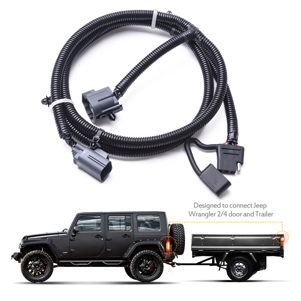 medium resolution of mictuning 65 trailer hitch harness kit 4 way for 07 17 jeepmictuning 65 trailer hitch wiring harness kit 4 way for 07 17 jeep wrangler jk 2 4