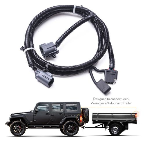 small resolution of mictuning 65 trailer hitch harness kit 4 way for 07 17 jeepmictuning 65 trailer hitch wiring harness kit 4 way for 07 17 jeep wrangler jk 2 4