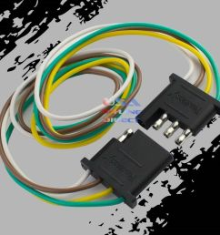 details about 4 pin plug trailer light wiring harness extension flat wire connector 2ft 24  [ 1000 x 1000 Pixel ]