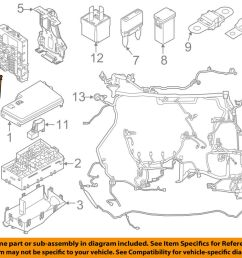 details about ford oem 12 16 focus 2 0l l4 electrical fuse relay box av6z14a068a [ 1000 x 798 Pixel ]