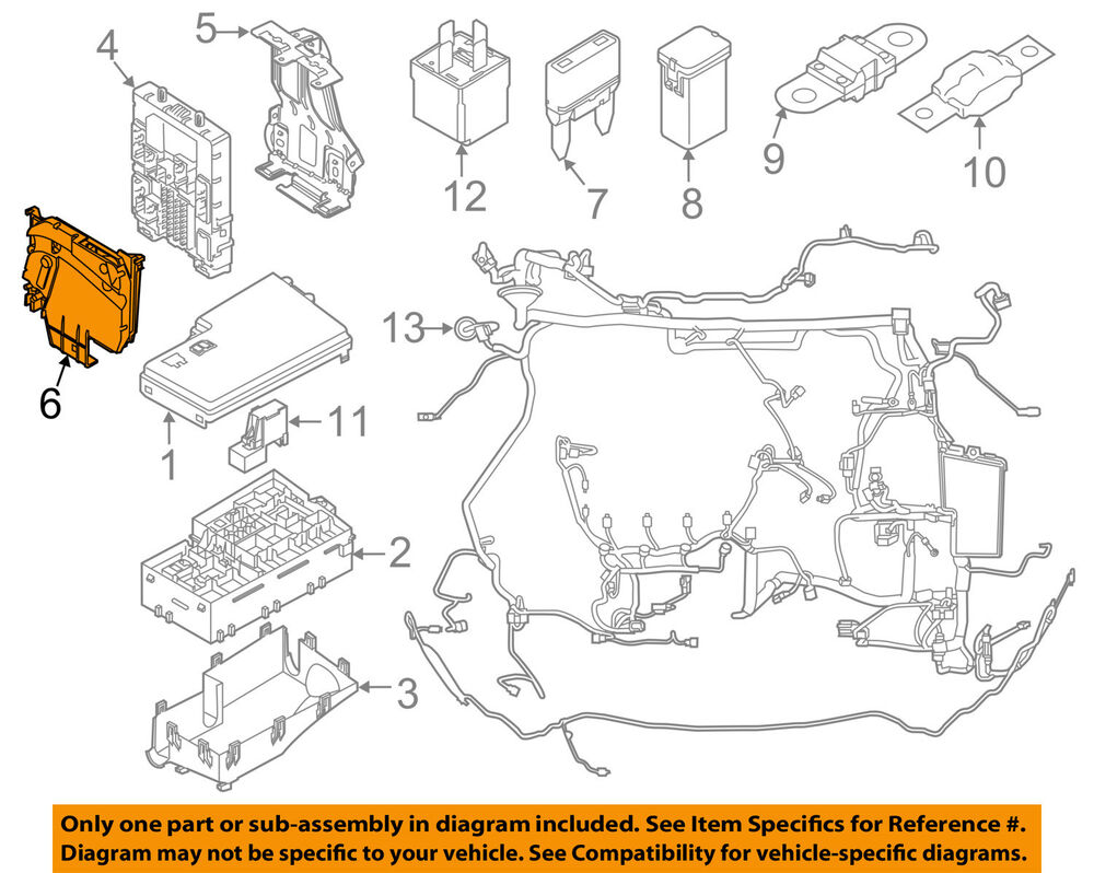 medium resolution of details about ford oem 12 16 focus 2 0l l4 electrical fuse relay box av6z14a068a