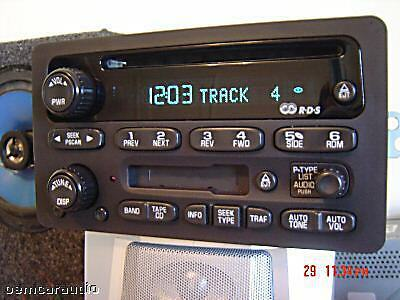 2004 Tahoe Radio Wiring Diagram Gm Chevy Radio Receiver Am Fm Stereo Cd Player Tape