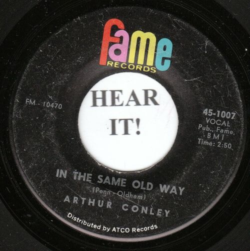 small resolution of details about arthur conley deep soul 45 fame 1007 in the same old way i can t stop