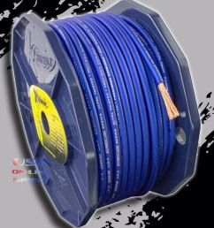 details about 8 gauge ofc copper awg blue power ground wire car audio amplifier speaker cable [ 1000 x 1000 Pixel ]