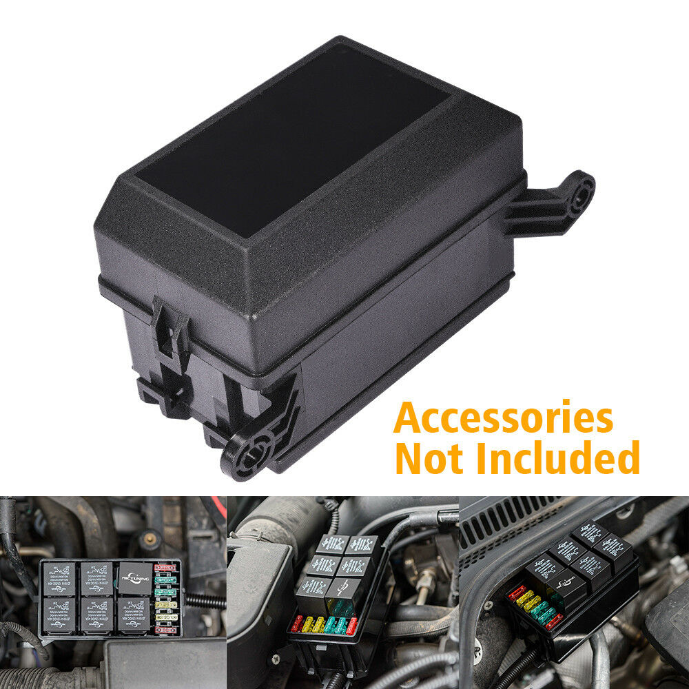 hight resolution of details about mictuning 12 slot relay box 6 relays 6 atc ato fuses holder block automotive