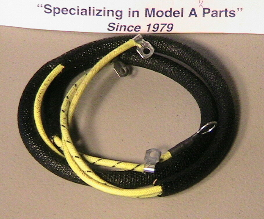 1928 1929 1930 1931 model a ford terminal box to cutout starter wiring  harness ebay