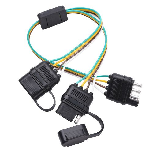 small resolution of details about trailer splitter 4 pin y split wiring harness adapter connector led light strip