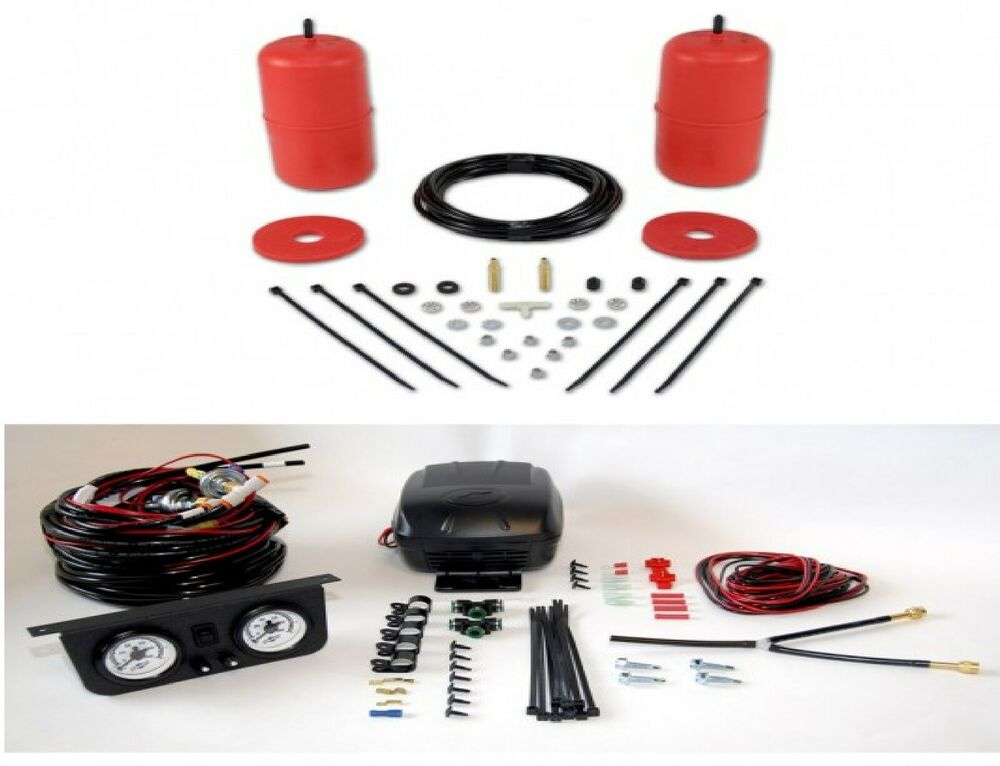 medium resolution of details about air lift rear control air spring dual air path leveling kit for toyota previa