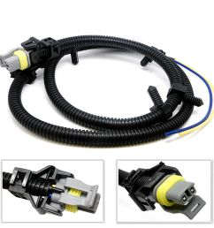 details about abs wheel speed sensor wire harness for chevrolet impala lumina uplander venture [ 1000 x 1000 Pixel ]