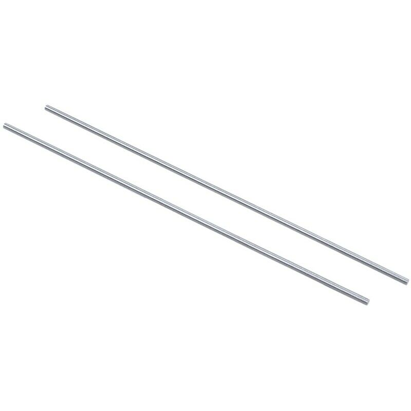 20x Steel Rod Bar Round Stock Lathe Tools 1.5mm Dia 100mm