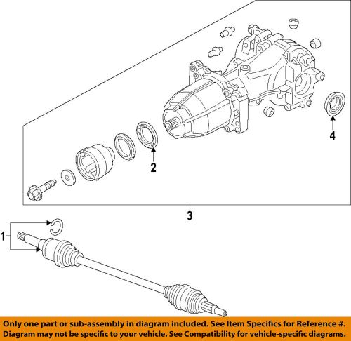 small resolution of details about ford oem rear differential pinion seal cv6z4676a