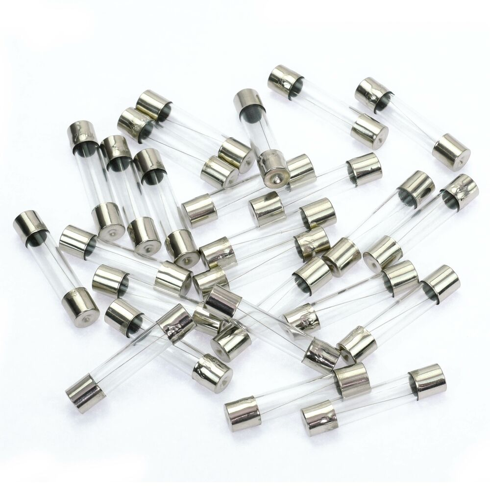 25pcs AGC Fuse 2 AMP 2 A Nickel Glass Auto Car Fuses Fast