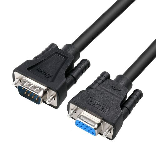 small resolution of details about dtech 15ft serial male to female cable rs232 extension 9 pin straight through