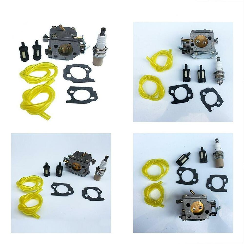 hight resolution of details about carburetor spark plug fuel filter kit stihl 041 041av farm boss gas chainsaw