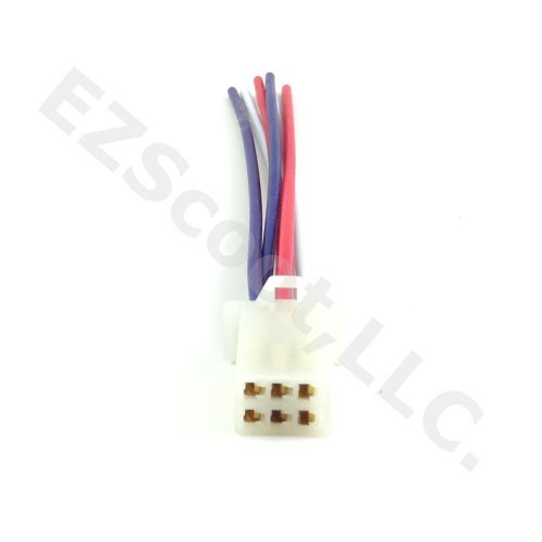 small resolution of details about cdi cable wire harness plug 6 wire gy6 scooter atv znen roketa sunl taotao baja
