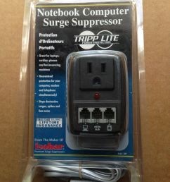 tools home improvement tripp lite 1 outlet no cord smp wallmount notebook surge suppressor with phone cord [ 1200 x 1600 Pixel ]