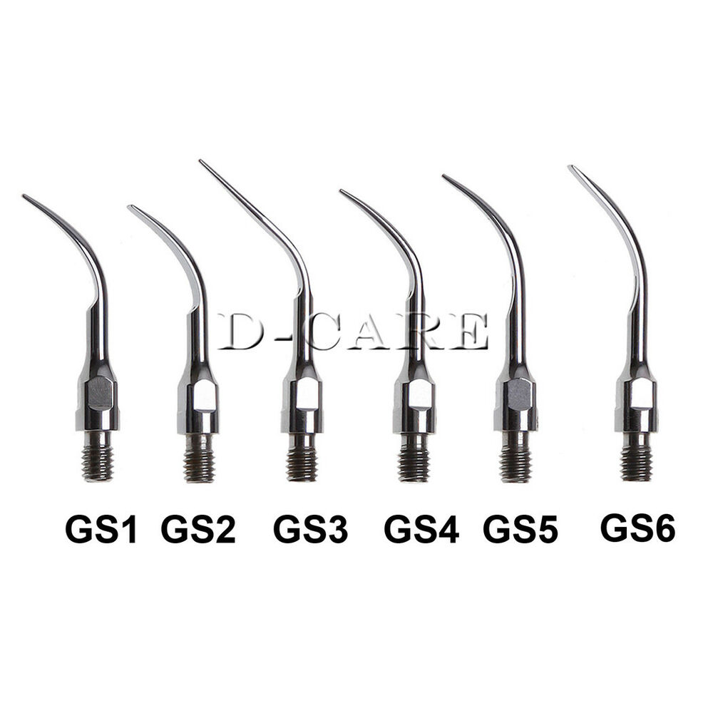 Dental Ultrasonic Scaler Tips Scaling GS1 GS2 GS3 GS4 For