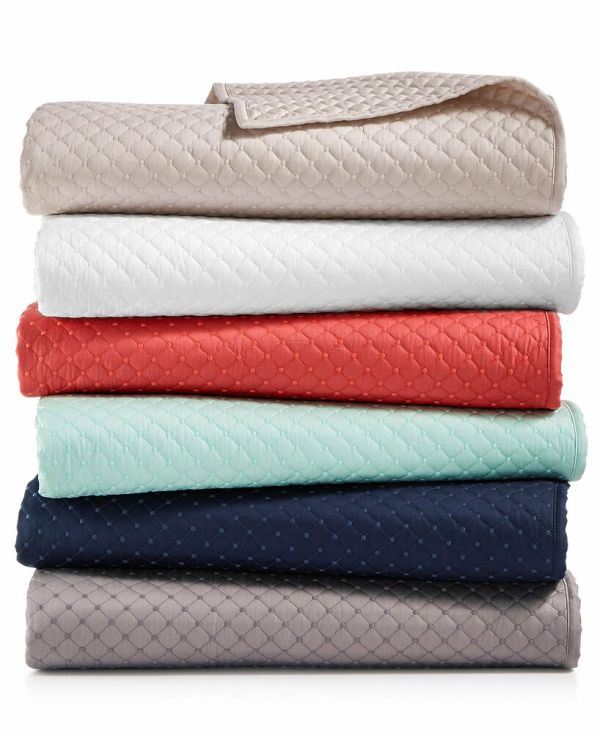 Charter Club Damask Diamond Quilted 3 Pc Full Queen