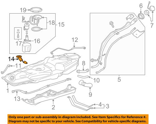 small resolution of detalles acerca de 2009 2018 toyota rav4 fuel gauge tank float level sending unit oem 83320 09140