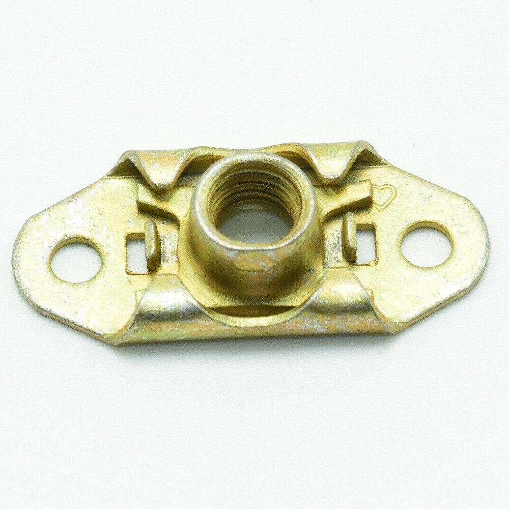 medium resolution of details about ms21059 08 two lug floating nut plate 10pk