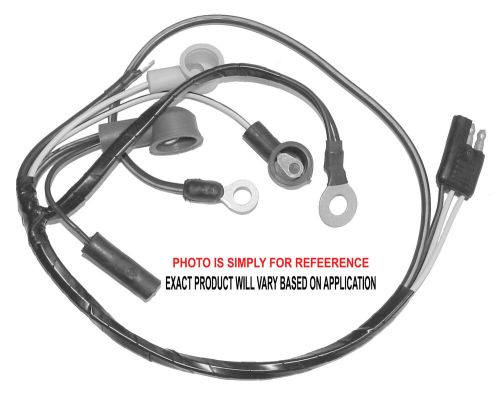 small resolution of details about 1967 1968 ford mustang alternator wiring harness small block w tach 67 22609